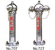 ステンレス製地上式消火栓