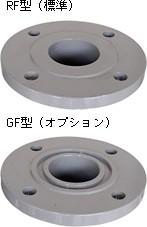 ボール式補修弁 JWWA B126 レバー式 (75mm & 100mm) フランジ形状