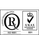 ISO9001認証取得 登録番号 YKA4003441/A/J