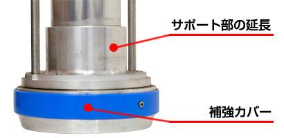 強化型スタンドパイプ「ストロングK」型番:YK-S001 特許技術「パイプサポート」