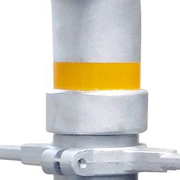 強化型スタンドパイプ「ストロングK」型番:YK-S001 反射テープ