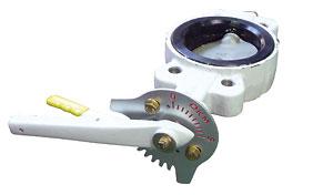 給水消火栓用 レバー式バタフライ弁