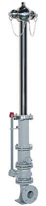 ステンレス製多雪型 単口消火栓(回転式)73TS-L
