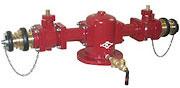 双口給水消火栓(地上配管型150mm)SB602