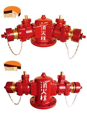 双口給水消火栓 SB600 【100mm & 150mm】