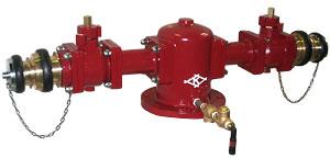 双口給水消火栓 SB602 【150mm】