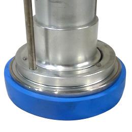 強化型スタンドパイプ「ストロングK」型番:YK-S001 ゴムカバー:青
