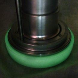 強化型スタンドパイプ「ストロングK」型番:YK-S001 ゴムカバー:蓄光