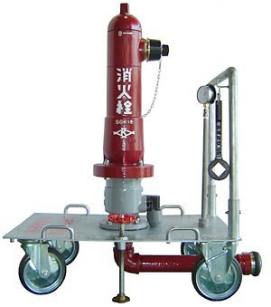 放水訓練車(地上式消火栓用) TR