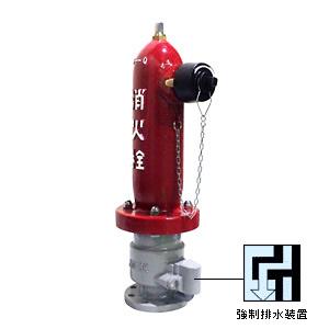 地上式単口消火栓 (ショートタイプ) No.60A(呼び径75mm)