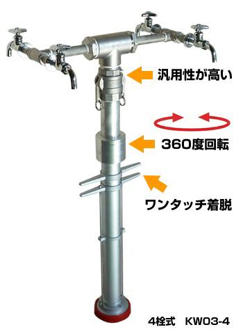 応急給水栓(スタンドパイプ型) KW03