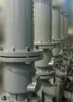 緊急時給水栓の製造風景