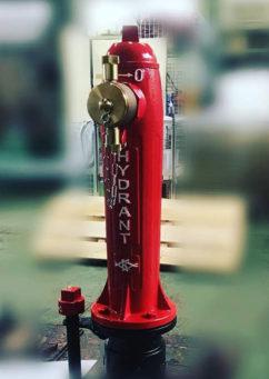地上式消火栓(海外向け)